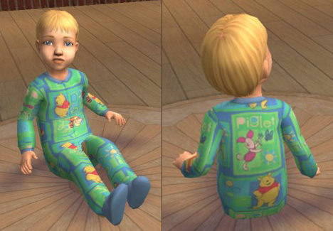 Mod The Sims Disney Babies Pjs And Diapers