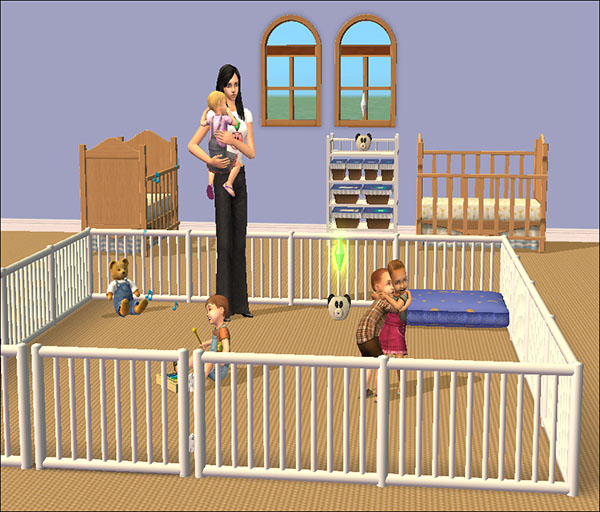 Mod the sims tiny tikes nursery necessities brand new modded objects - Sims 3 babyzimmer ...