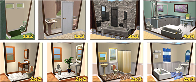Mod the sims basics for beginner house builders for Bathroom ideas for 5x6