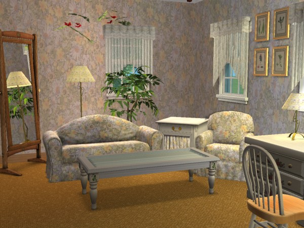 mod the sims 13 rhondal drive upper class homes. Black Bedroom Furniture Sets. Home Design Ideas