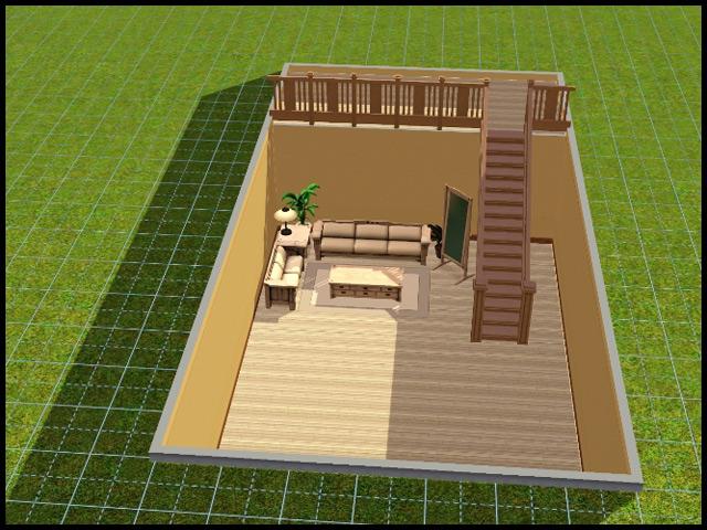 mod the sims true sunken basements in the sims 3 work in progress