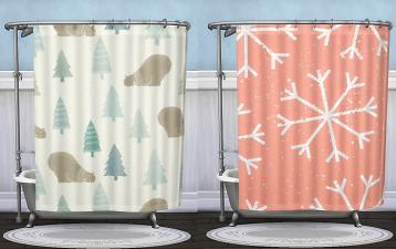 Mod The Sims Winter Quot Under The Sea Clawfoot Tub With Shower Quot