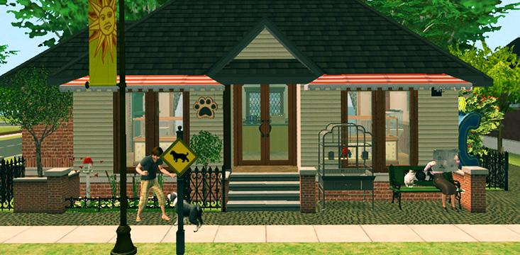 mod the sims pawprints pet shop