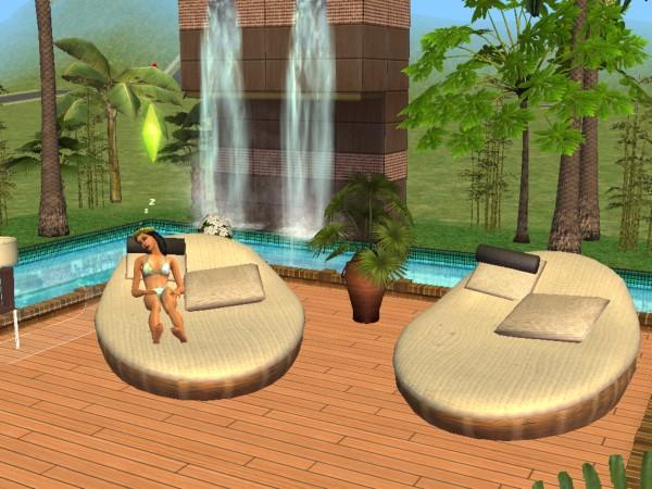 Mod The Sims Animonia Design Lounge Chair A Cushy