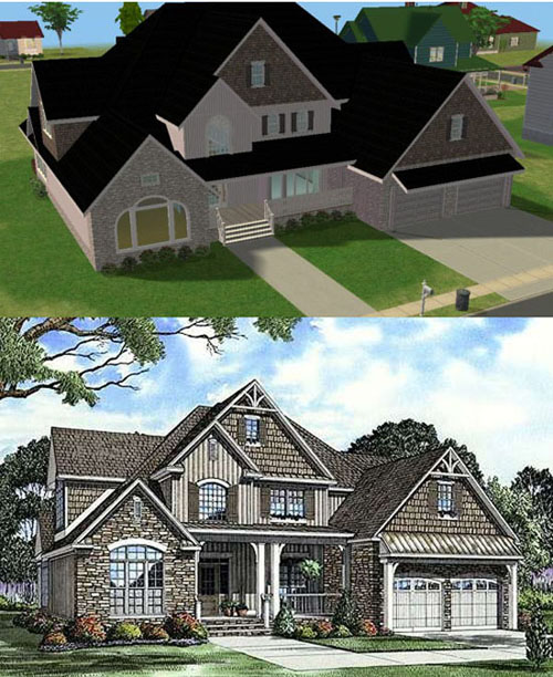 mod the sims american way 88 On sims exteriors