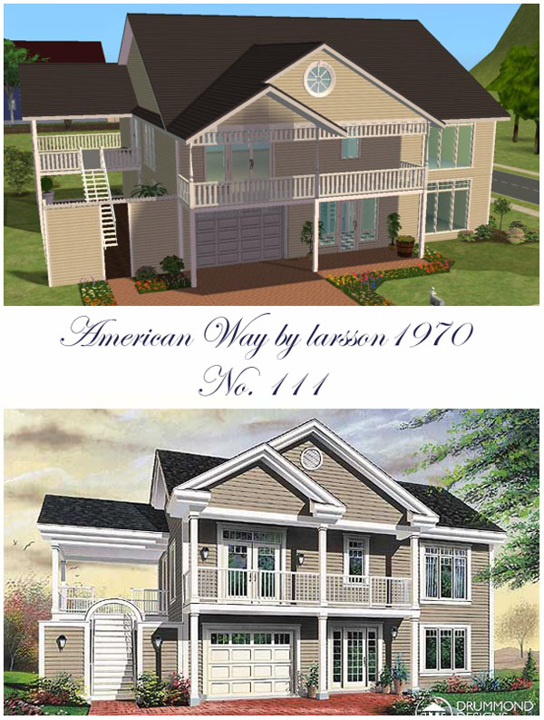 Mod the sims american way 111 for American family homes