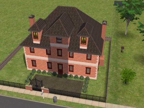 Mod The Sims Old European Townhouse No Cc