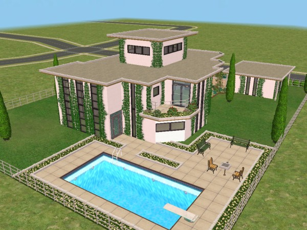 Sim 2 house plans house plans for Sims 2 house designs floor plans