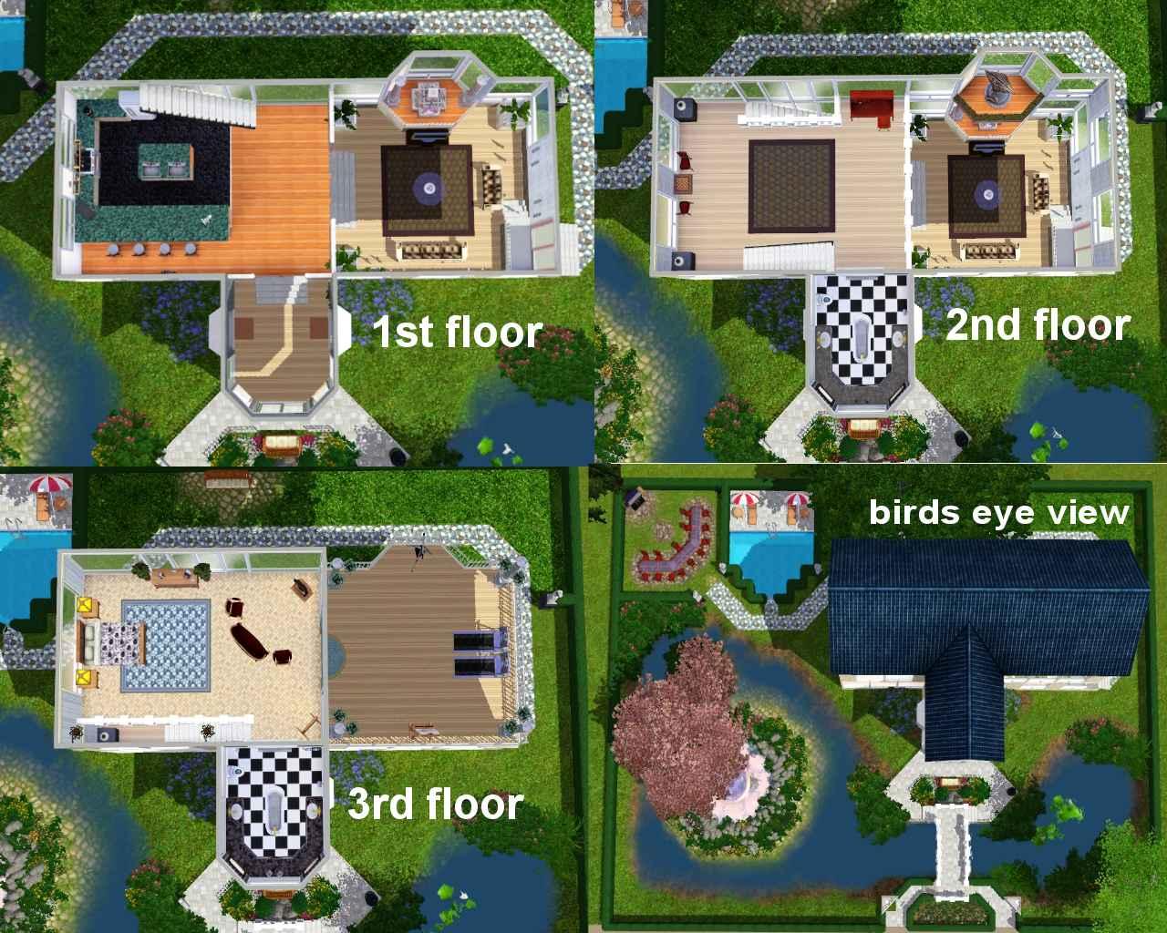 mod the sims a quaint place to live