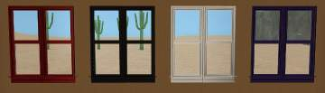 Double Wide Double Hung Windows : Mod the sims recolours of new double wide
