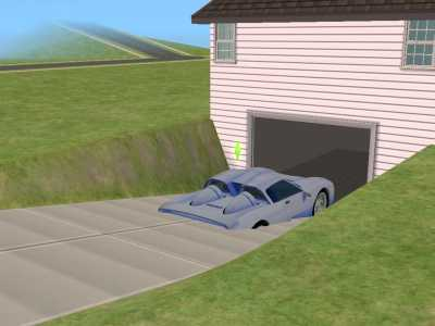 Mod the sims sloped driveway tutorial for Sloped driveway options