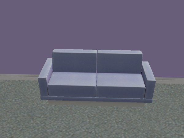 Mod the sims mr section sectional couches in pastel for Sectional sofa sims 3