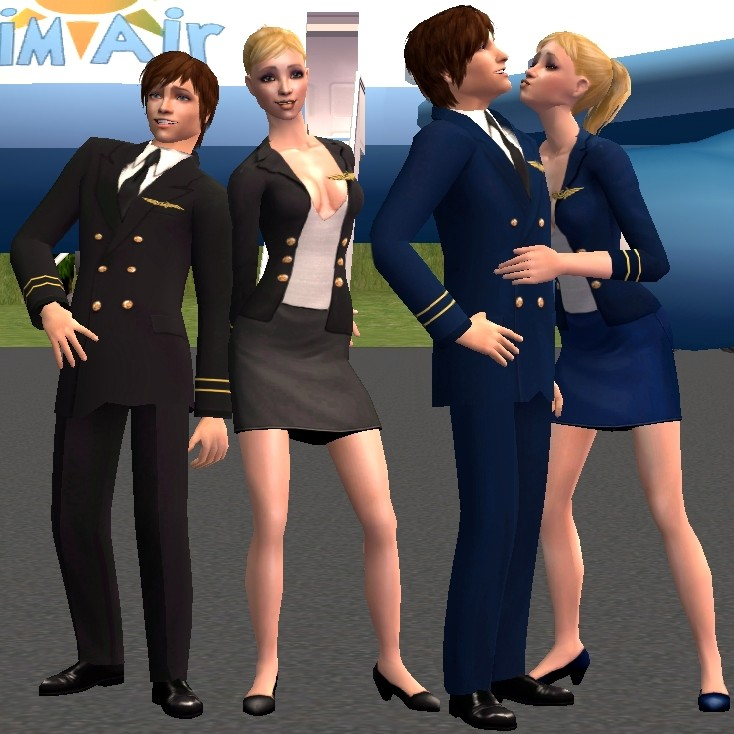 Sims 2 nurse brown part2 animation uniform fetish - 1 2
