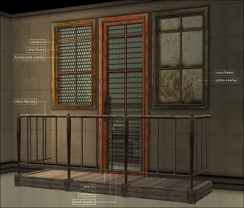 Sims 4 Cc S The Best Windows By Tingelingelater: Liam Build Set