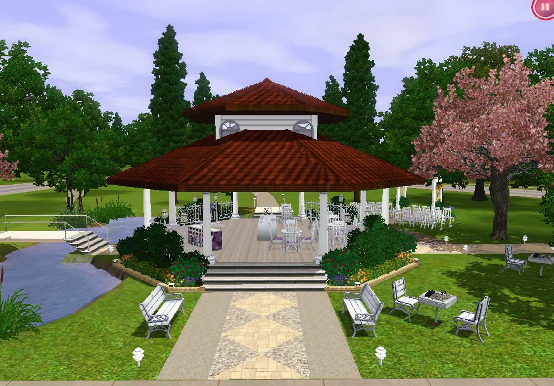 Mod The Sims The Old Riverview Gazebo