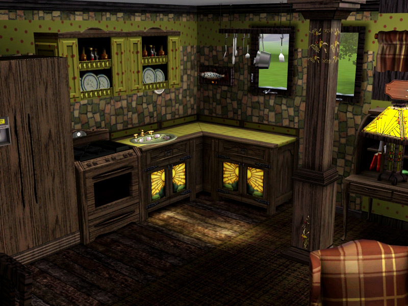 Mod the sims witch house for Garden room 2x3