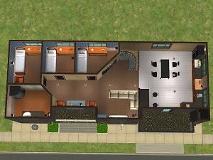 Mod The Sims Mini Service Lots Police And Fire Station