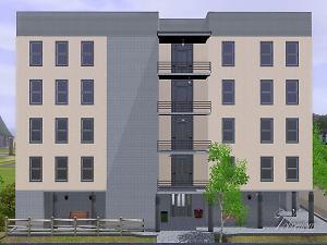 Mod the sims hansteen apartments no cc for Apartment design sims 3