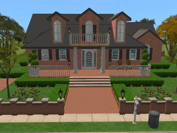 Mod The Sims Quot Colonial Classical Charm Quot Fully Furnished