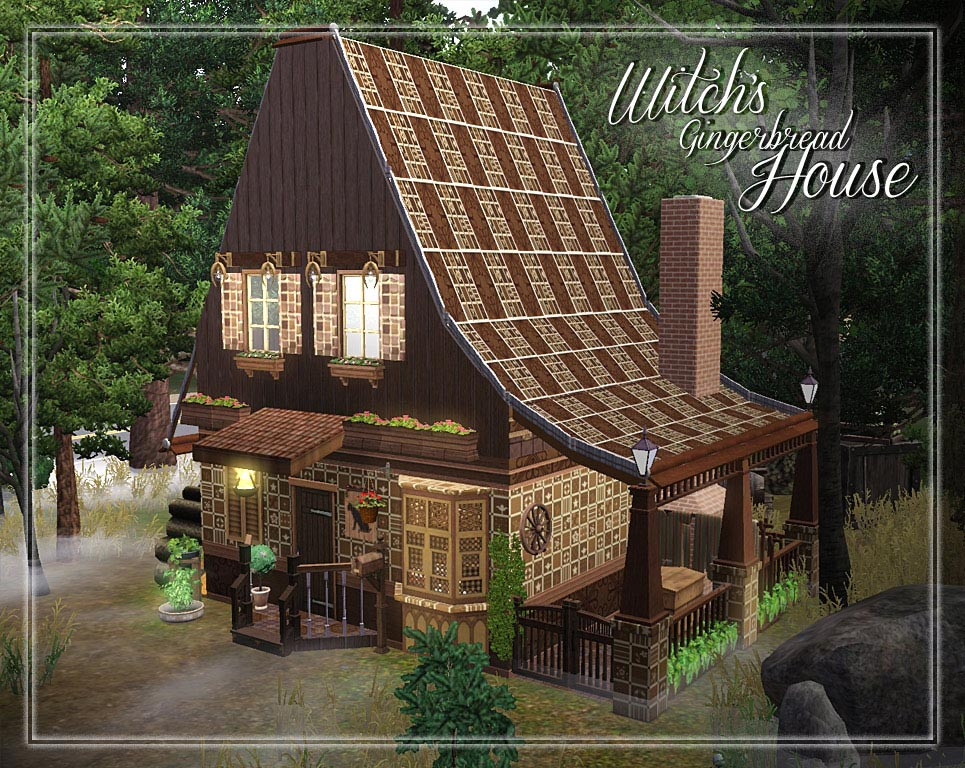 Mod The Sims Witch S Gingerbread House