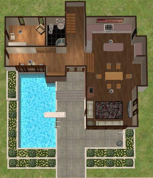 Casa moderna for Casa moderna numero 1