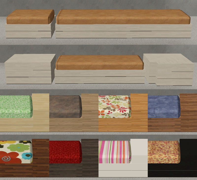Floor Elevation Cheat Sims 2 : Mod the sims nook seating living room set