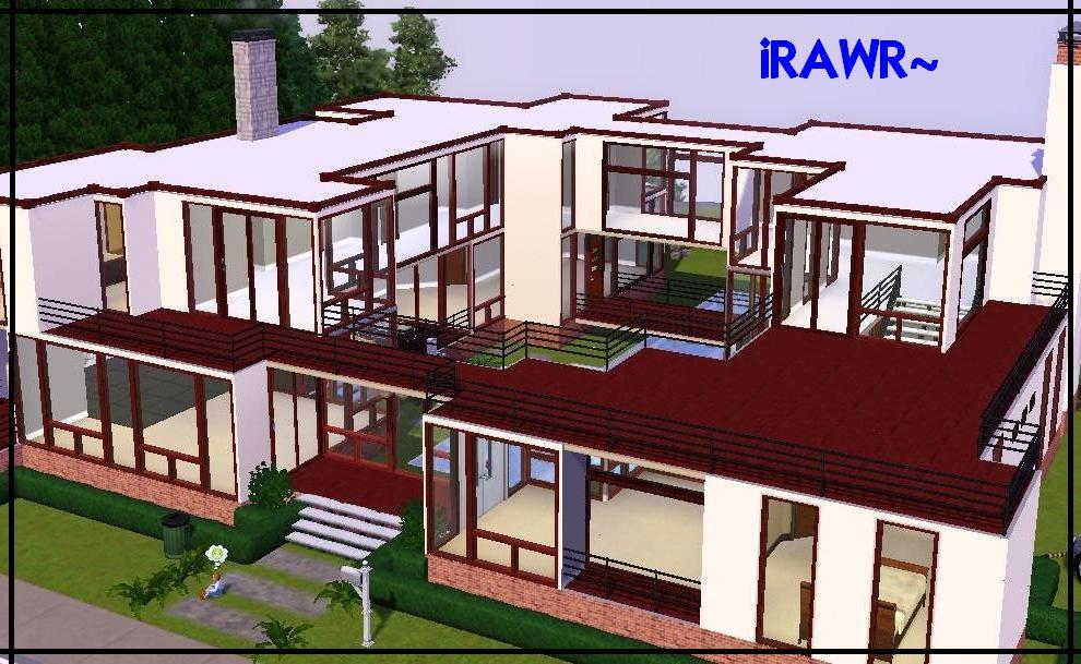 The sims 3 biz julho 2011 for Sims 4 modelli di casa moderna