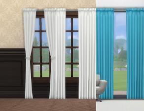 Mod The Sims Simple Curtains