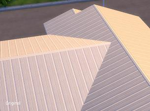 Mod The Sims - Less Shiny Metal Roofs