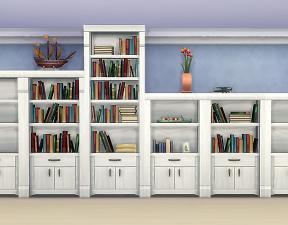 Mod The Sims Muse Shelf Add Ons