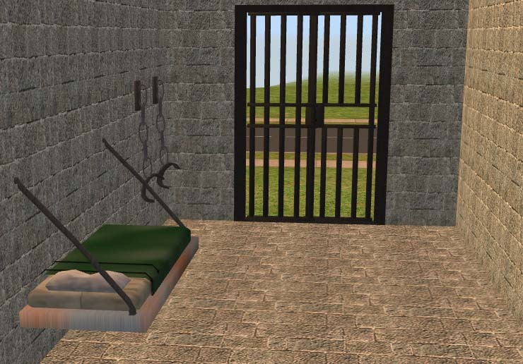 Mod The Sims Jail Cell Collection By Cc Designs