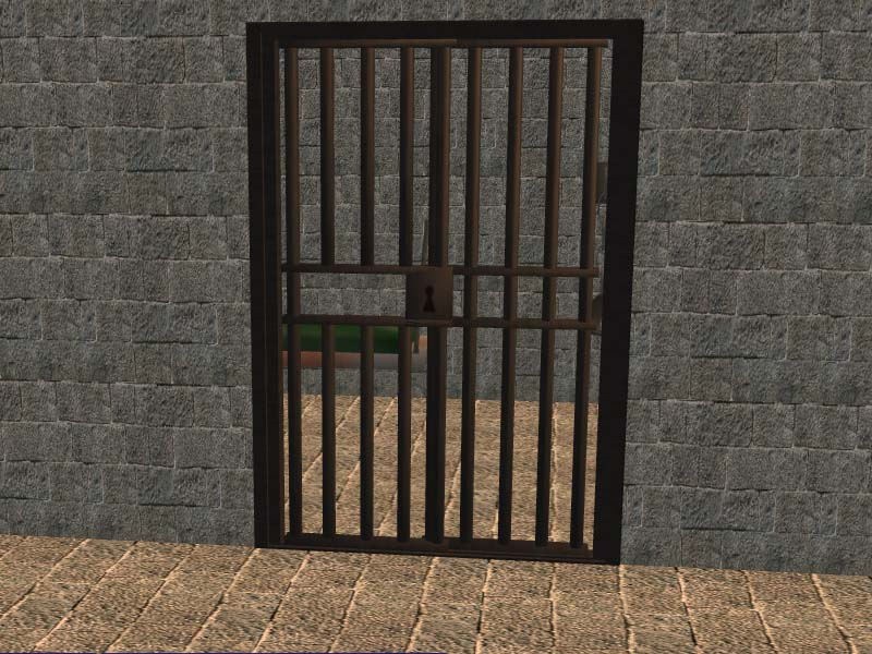 Mod The Sims - Jail Cell Collection by CC Designs