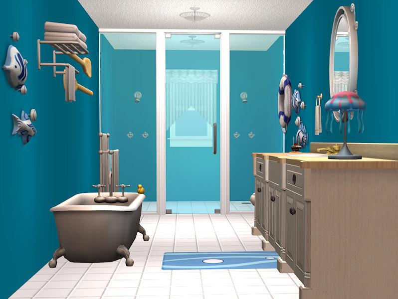 Mod the sims hgtv dream home 2009 for Bathroom ideas sims 4