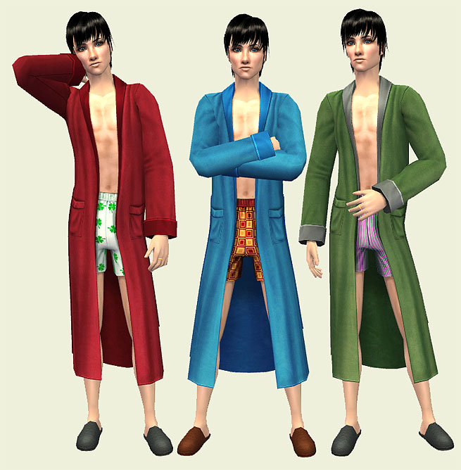 teen boys robe