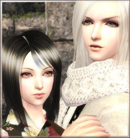 In-game screenshot Viridian Green Eyes