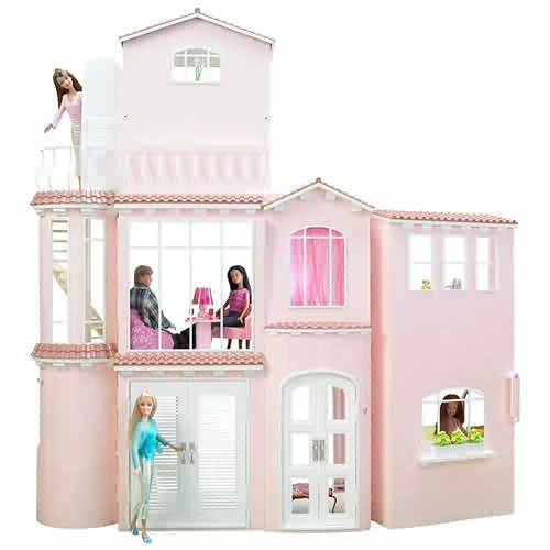 Barbie Home Decoration Games: Barbie Dream House 1 : Her Town House! **My