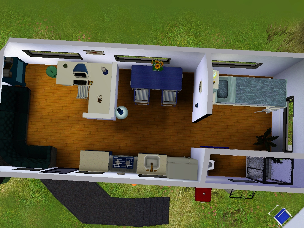 Mod The Sims Camping Vehicle Caravan With Rv