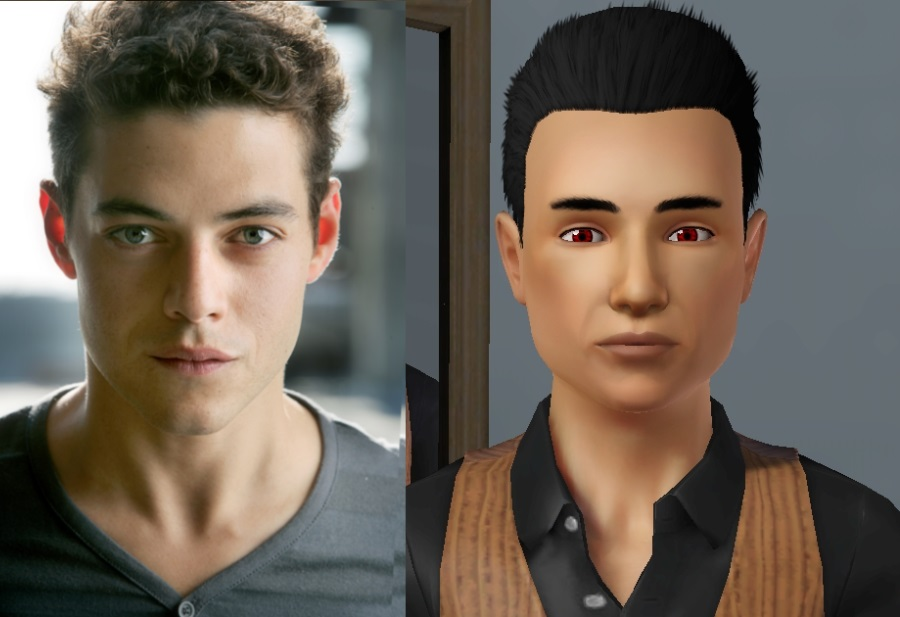 Mod The Sims - Rami Malek as Benjamin from The Twilight Saga ...