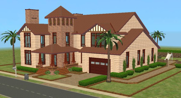 Mod The Sims Spanish Villa