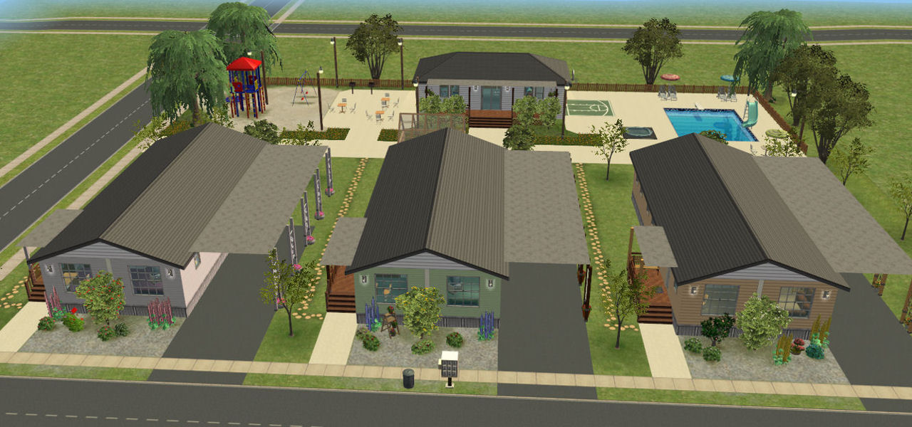 Mod the sims pleasantview mobile home park no cc - Sims 2 downloads mobel ...