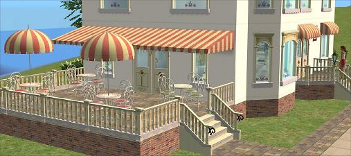 Mod The Sims Arcady Ice Cream Parlour Pt 3 Object Recolours