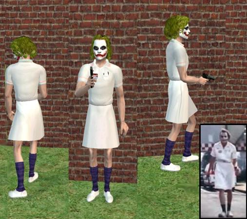 MTS2 siberwolf 800077 nursejokerviews - heath ledger ( the joker) fun clup