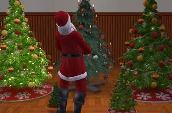 Mod The Sims - Summon Santa w/ CC Christmas Trees