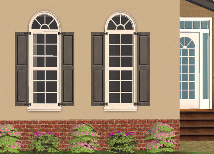 Mod the sims 1 tile la fen tre window with shutters for Fenetre dos windows 8