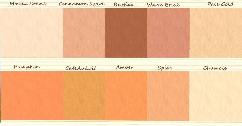 mod the sims - valspar signature colors - laura ashley spice