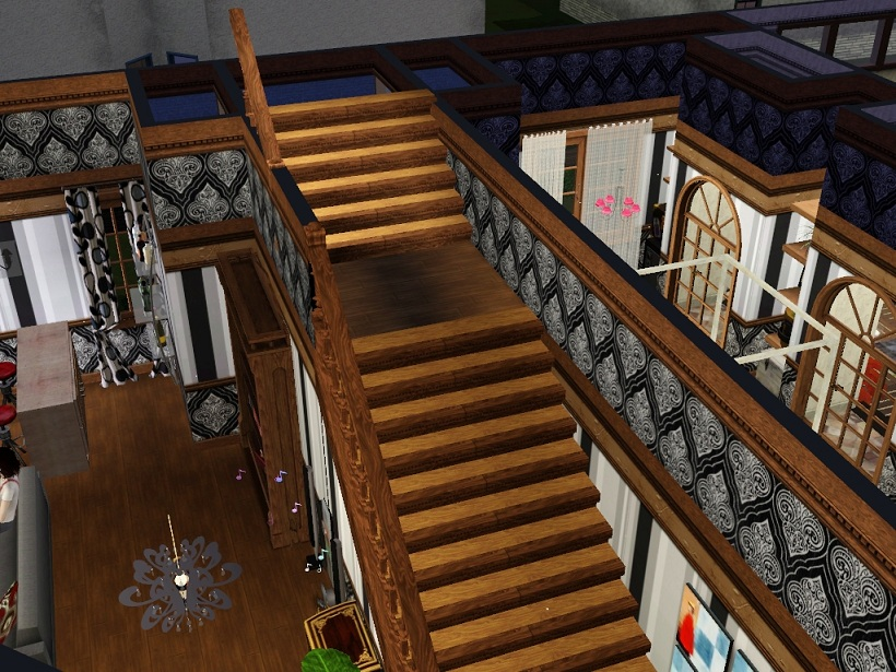 Sims  Build Mode Stairs