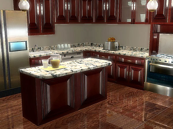 Mod The Sims - The 3000 Edition Kitchen Collection ~ Collection