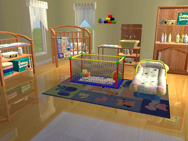 Sims 4 Cribs Functional