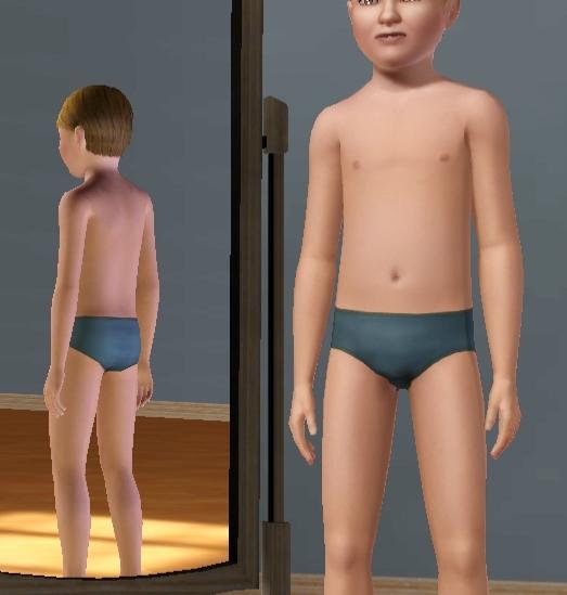 Boy bikini briefs
