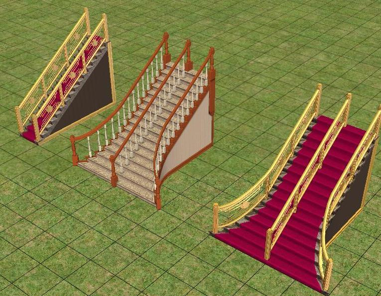 Mod The Sims Cant Unrail Mansion amp Garden Staircases